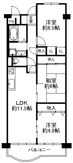 淀川パークハウス 2号棟