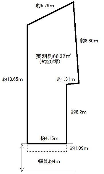 売土地(建築条件なし)